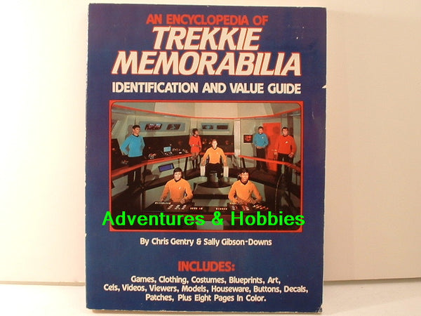 Encyclopedia of Trekkie Memorabilia Value Guide Trek BD