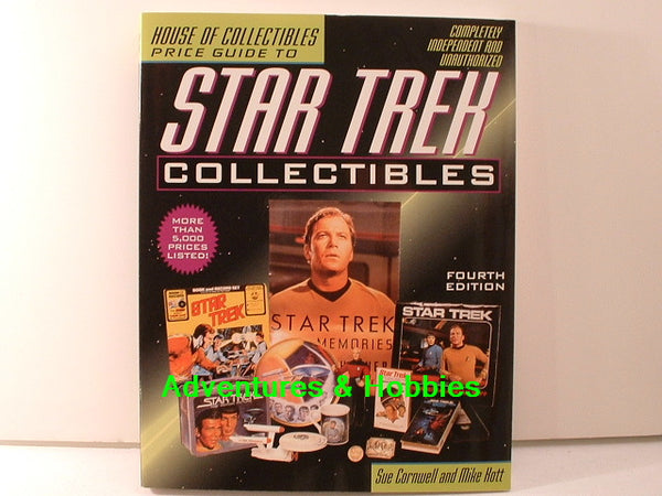 House of Collectibles Star Trek Collectibles Price Guide BD