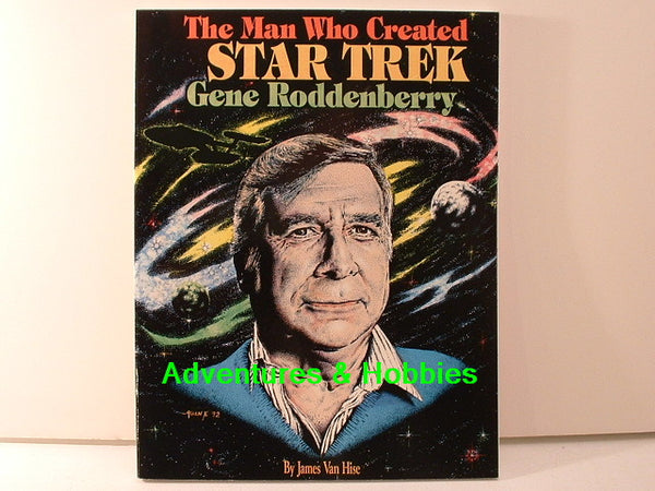 Man Who Created Star Trek Gene Roddenberry New BD