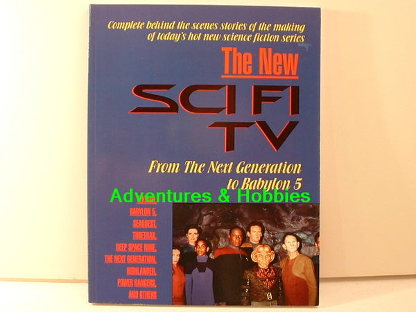 The New Sci Fi TV Star Trek: TNG Babylon 5 Highlander BD
