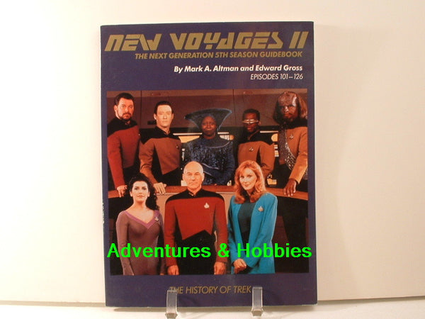 New Voyages II Star Trek Next Generation 5th SIGNED BD