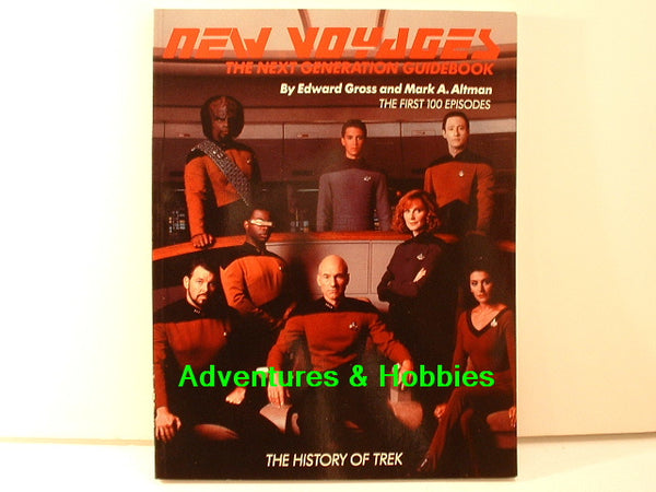New Voyages Star Trek Next Generation Guide SIGNED BD