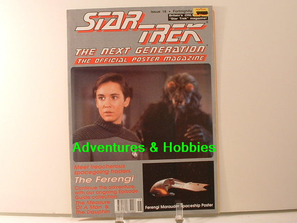 Star Trek TNG Official Poster Magazine #18 Ferengi Marauder BD