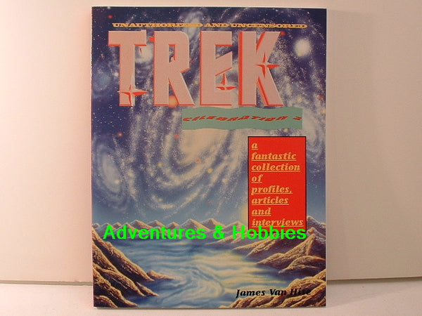 Star Trek TNG Trek Celebration 2 Van Hise Reference Book New BD