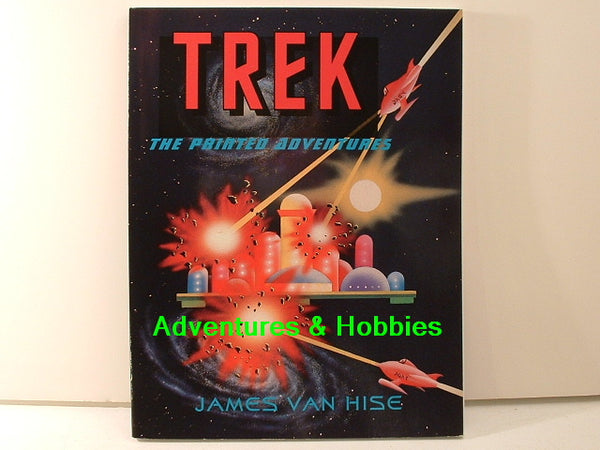 Star Trek: The Printed Adventures Guide Van Hise New BD