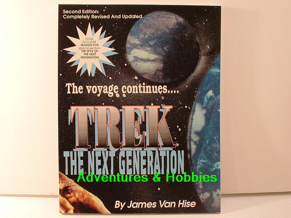 Star Trek: The Next Generation Ref Van Hise 2nd Edition New BD