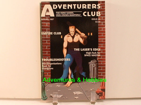 Adventurers Club 9 Champions MERP Justice Inc Pulp C7 Hero Games