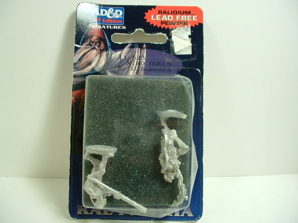 D&D Fantasy Miniatures Advanced Dungeons and Dragons Wind Dukes x2 11-536 Ral Partha