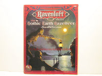 AD&D Ravenloft Gothic Earth Gazetteer 1890's Masque of the Red Death Accessory TSR 9498 1995 AT-S