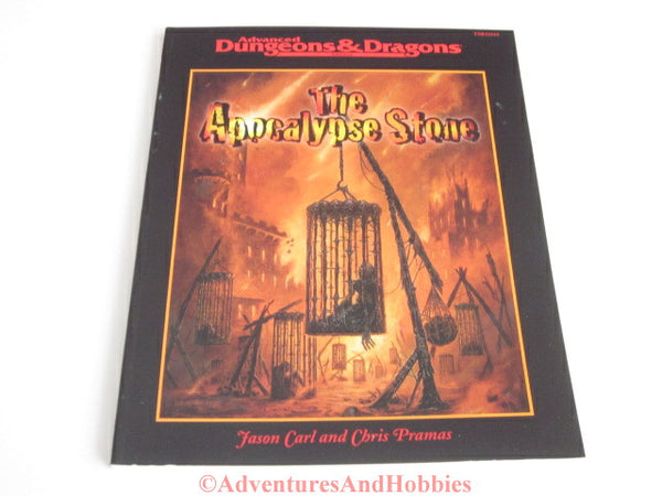AD&D The Apocalypse Stone Adventure TSR 11614 Wizards 2000 JSq-S