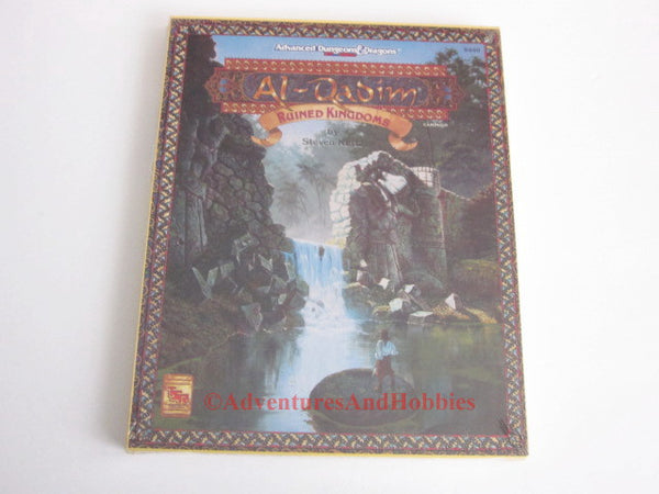 AD&D Al-Qadim Ruined Kingdoms Box Set TSR 9440 1994