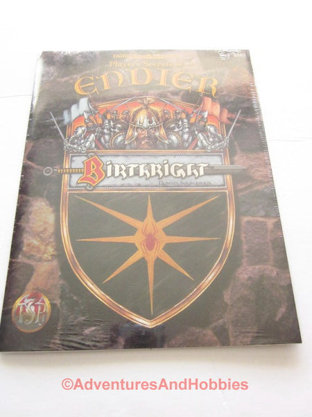 AD&D Birthright Players Secrets of Endier Sealed Shrinkwrap TSR 3105 1995 DTg-D