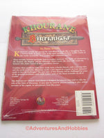 AD&D Birthright Players Secrets of Khourane Sealed Shrinkwrap TSR 3123 1996 DTh-S