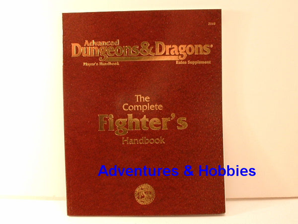 AD&D Complete Fighter's Handbook New TSR 1995 D&D OOP FC