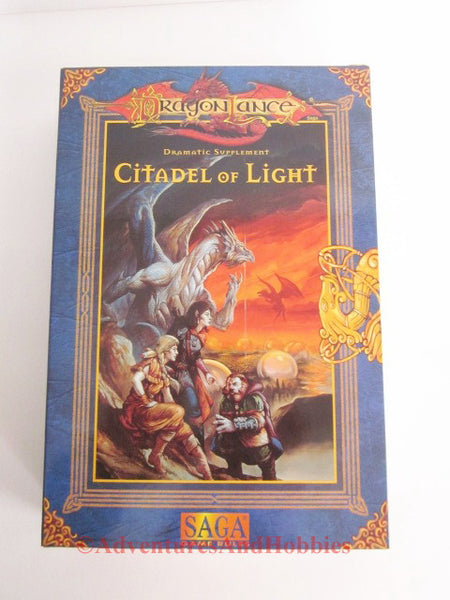 AD&D DragonLance Fifth Age Citadel of Light Box Set Saga TSR 9554
