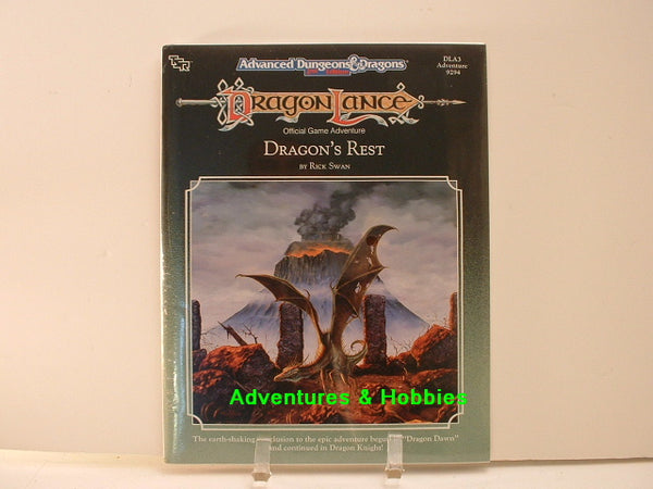 AD&D DragonLance Dragon's Rest Sealed Shrinkwrap TSR 9294 DLA3