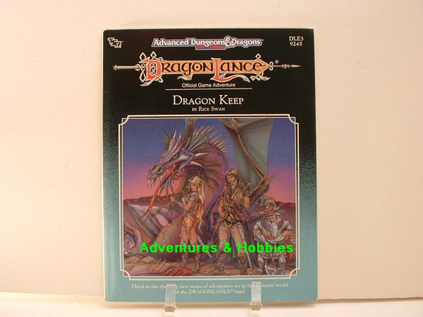 AD&D DragonLance Dragon Keep TSR 1989 OOP Dungeons Dragons D8DB