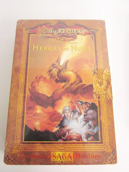 AD&D DragonLance Fifth Age Heroes of Hope Box Set Saga TSR 9546 1997
