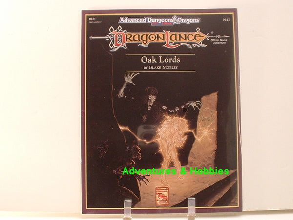 AD&D DragonLance Oak Lords TSR 9327 1991 C Sealed Shrinkwrap D&D