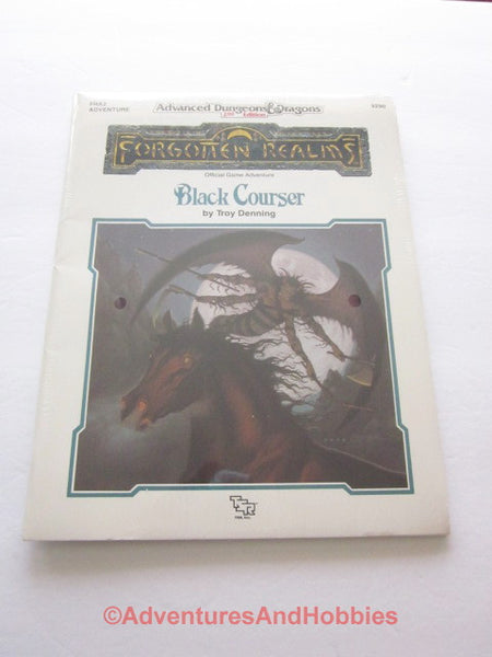 AD&D Forgotten Realms Black Courser Sealed Shrinkwrap TSR 9290 FRA2 1990 DTi-DS