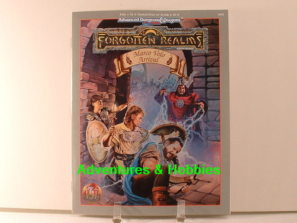 AD&D Forgotten Realms Marco Volo Arrival D&D TSR OOP New F1
