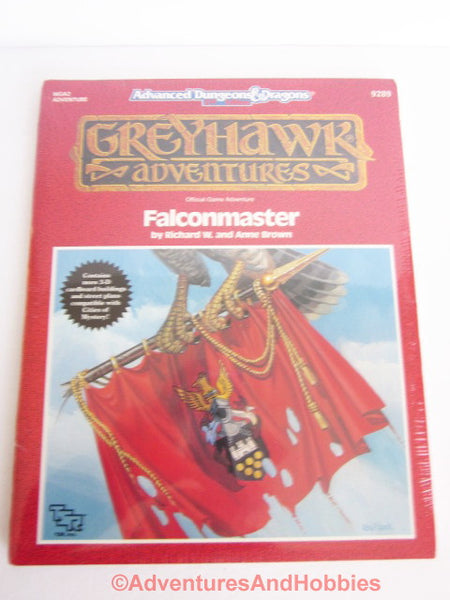 AD&D Greyhawk Falconmaster Sealed Shrinkwrap WGA2 TSR 9289 1990 CTi-S Sealed Shrink D&D