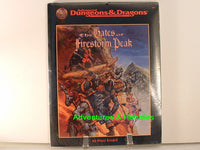 AD&D Gates of Firestorm Peak Sealed Shrinkwrap TSR 9533 D&D A