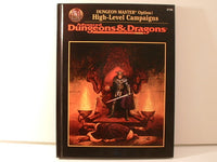 AD&D DM Option High-Level Campaigns Hardcover TSR D&D OOP AC