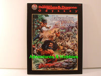 AD&D Jakandor Land of Legend Sourcebook TSR D&D New OOP