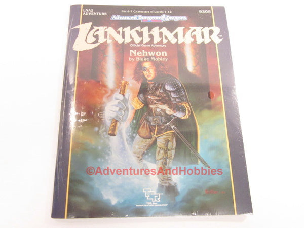 AD&D Lankhmar Nehwon Adventure LNA2 Sealed Shrinkwrap TSR 9305 1990 HTj-D