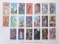 AD&D Advanced Dungeons & Dragons Monster Cards Set 4 TSR 8012 JR No Rust Monster
