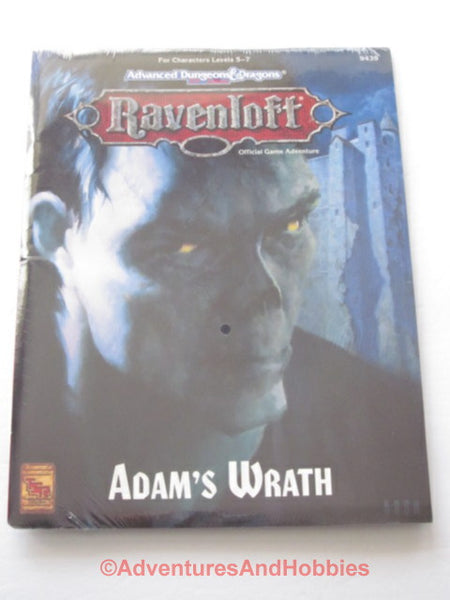 AD&D Ravenloft Adam's Wrath Sealed Shrinkwrap TSR 9439 1994 DTj-D D&D Horror