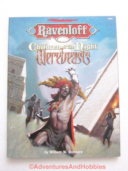 AD&D Ravenloft Werebeasts Children of the Night Creatures TSR 9583 DTq-D
