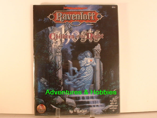 AD&D Ravenloft Ghosts Sealed Shrinkwrap TSR 9555 1997 D&D Horror