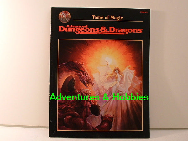 AD&D Tome of Magic Fantasy RPG Sourcebook TSR New OOP D&D JC