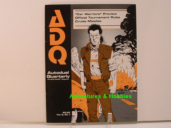 Car Wars Autoduel Quarterly V9 #1 New F8 Steve Jackson Games