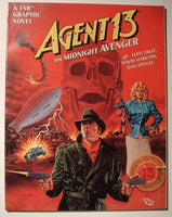 TSR Agent 13 Midnight Avenger Pulp Graphic Novel OOP DC