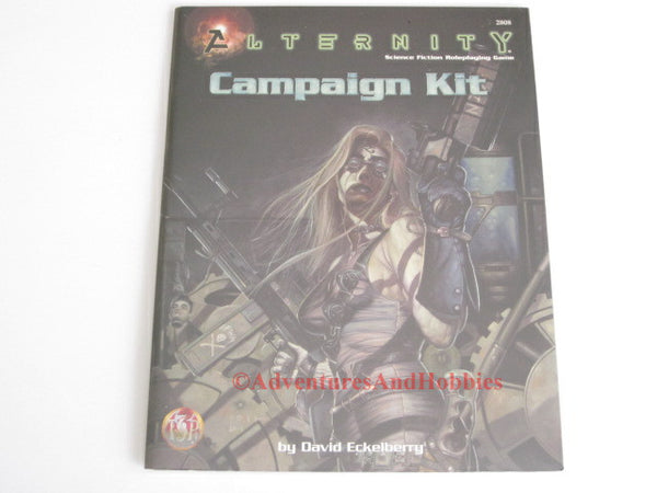 Alternity StarDrive Campaign Kit TSR 2808 1998