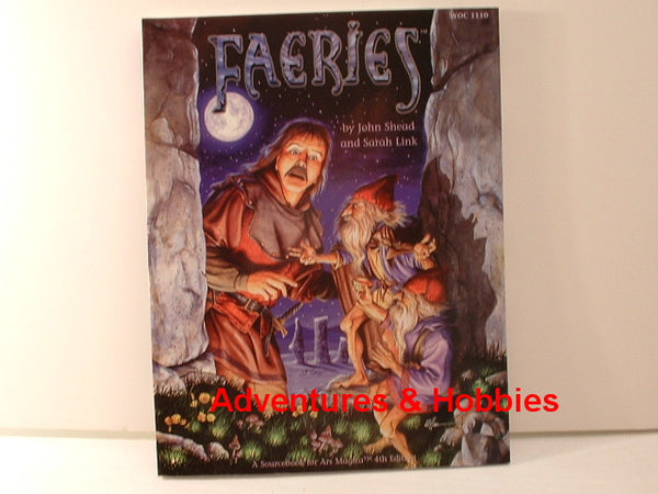 Ars Magica Faeries Sourcebook New WotC OOP G6 Fantasy RPG