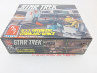Star Trek USS Enterprise Command Bridge Model Kit Sealed AMT Ertl 6007 CN