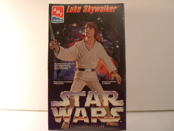 Star Wars Luke Skywalker Vinyl Model New OOP AMT Ertl 8783 GB