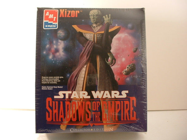 Star Wars Shadows of Empire Xizor Vinyl Figure Kit AMT Ertl 8256 LA