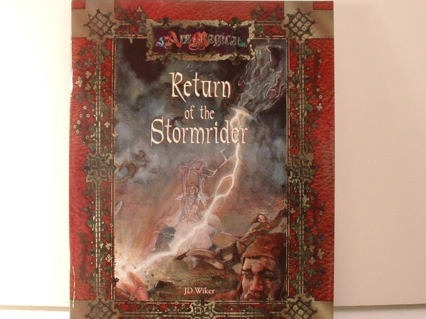 Ars Magica Return of the Stormrider Atlas Games New NMint H5