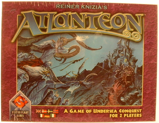 Atlanteon Fantasy Family Board Game Reiner Knizia New