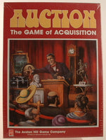 Auction Family Board Game Avalon Hill 1989 OOP New Sealed GC