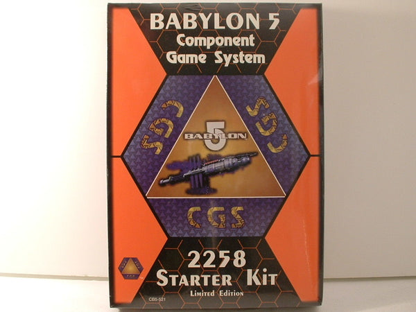 Babylon 5 Component Games System 2258 Centauri Starter Kit OOP Sealed New A6