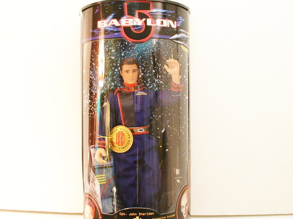 "B5 Babylon 5 Captain John Sheridan 9"" Limited Ed Doll Science Fiction TV OOP CB"