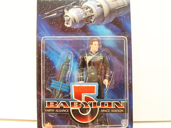B5 Babylon 5 Action Figure Captain John Sheridan OOP CB