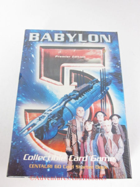 Babylon 5 Centauri Starter Deck Collectible Card Game Premier Edition SEALED B5 DQ