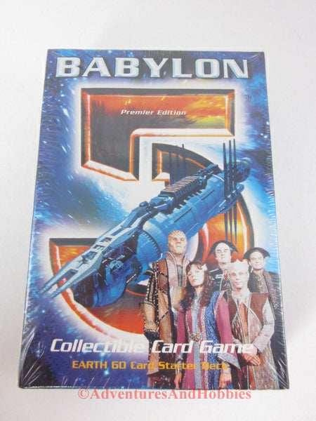 Babylon 5 Earth Starter Deck Collectible Card Game Premier Edition SEALED B5 DQ